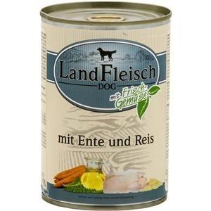 Landfleisch Ente+Reis    400gD