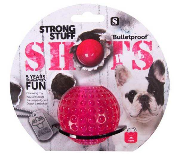 Karlie Flamingo Strong Stuff Shots Ball 6 cm