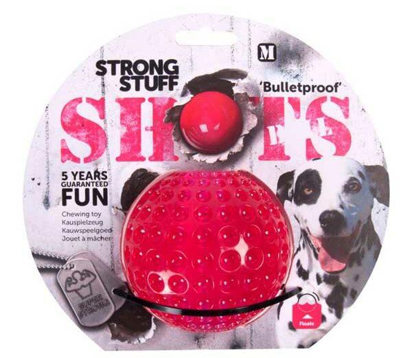 Karlie Flamingo Strong Stuff Shots Ball 9 cm