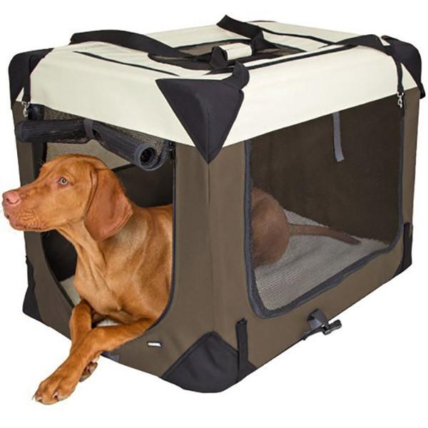Transportboxen und -taschen für Hunde